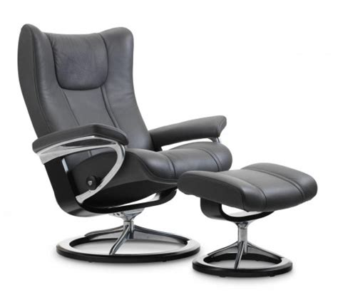 stressless recliner chairs prices stressless wing signature recliner ottoman from 2 495