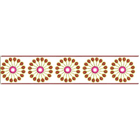 Flower Foods Stock Border Embroidery Designs Free Embroidery Designs