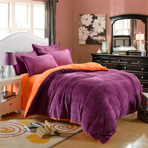 winner bedding set velour velvet warm warm bed set