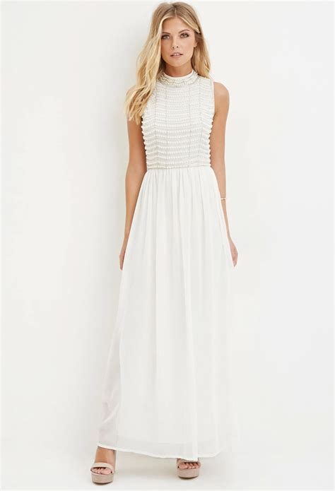 White Black Maxi white chiffon maxi dress cocktail dresses 2016