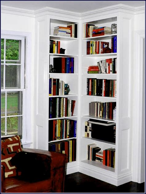 corner wall bookshelves wall corner bookshelves