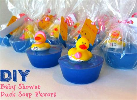 Baby Shower Duck Favors by Diy Baby Shower Duck Soap Favors