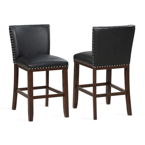 Steve Silver Counter Stools by Steve Silver Black Counter Stool Set Of 2