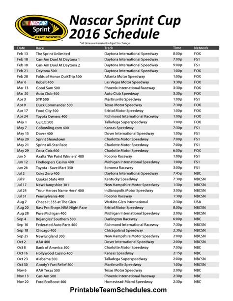 printable sporting kc schedule 2015 search results for sprint cup schedule printable