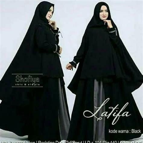 Supplier Baju Zeela Syari Hq 3 jual latifah syari pakaian wanita muslimah baju syari stelan muslim di lapak yanshop