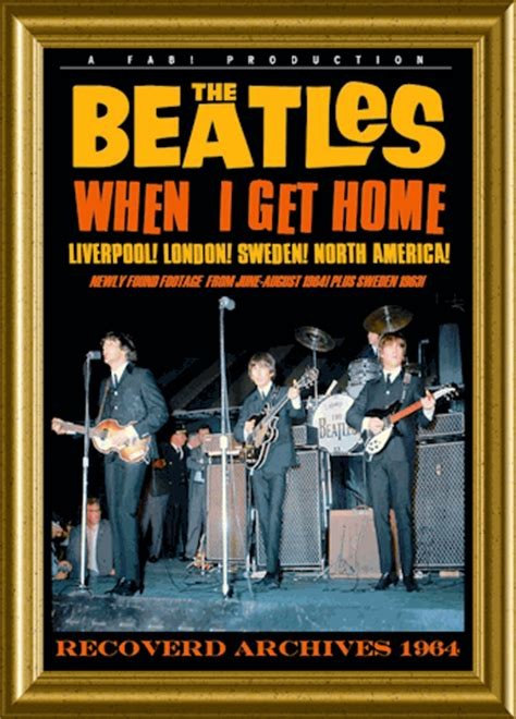 beatles dvd when i get home 1964