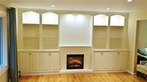 hand crafted built in wall unit for widescreen tv in hand crafted custom wall units and built in by blue marlin