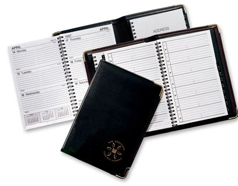 Table Top Organizer Spiral Weekly Planners 2014 Leatherette Diary