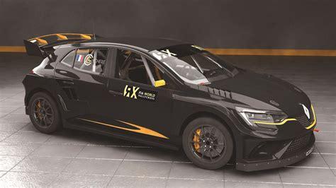 rallycross truck prodrive s renault megane rx is a rallycross supercar