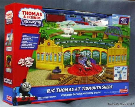 Tidmouth Sheds Trackmaster by Trackmaster R C Motorized Tidmouth Sheds Ebay