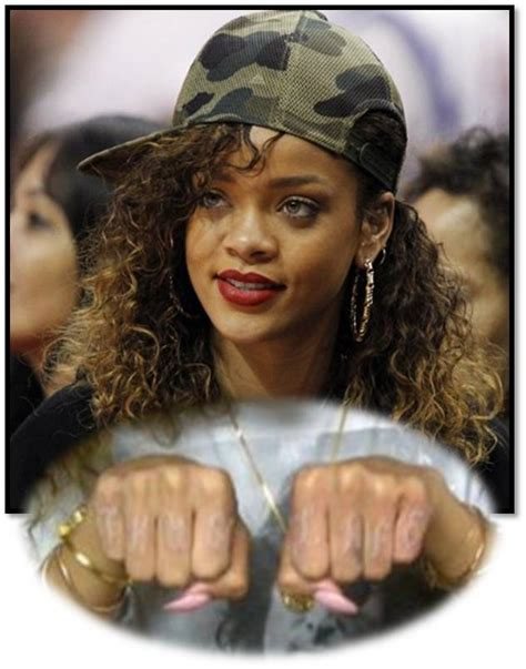 rihanna s new tattoo rihanna new quot thugh quot all idea