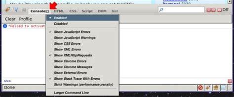 firebug console log debug logging in javascript firefox shallow thoughts