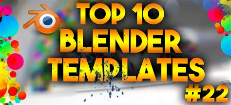top 10 best motion graphics intro templates april 2017 top 10 best blender 3d intro templates 22 free