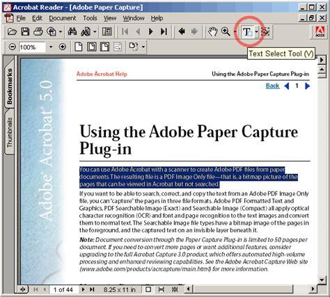 adobe acrobat 5 0 full version free download adobe acrobat paper capture plugin