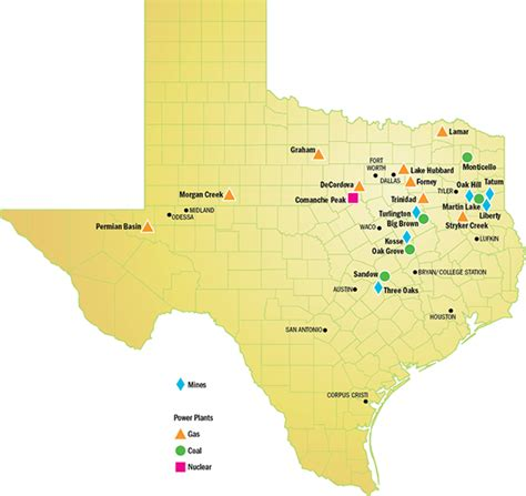 coal mines in texas map powering texas luminant