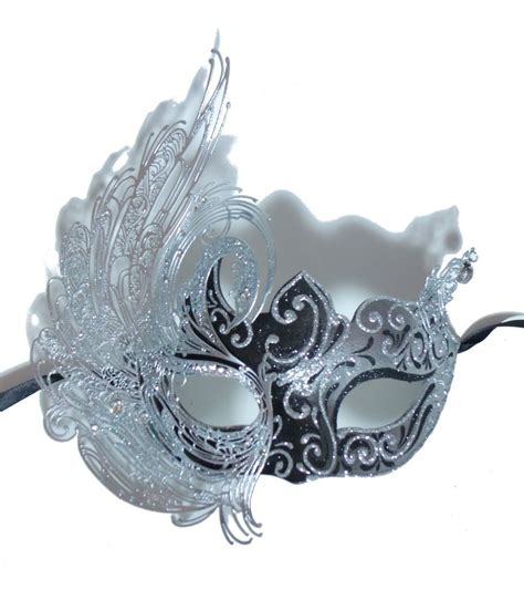 masks for new year silver venetian new year s masquerade mask mardi gras ebay