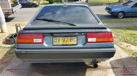 mitsubishi cordia for sale mitsubishi cordia gsr turbo aa 1984 3d hatchback 5 sp