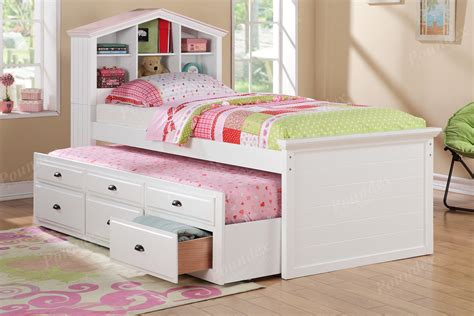 white twin bed with storage drawers white captain twin bookcase bed w trundle bed and 3