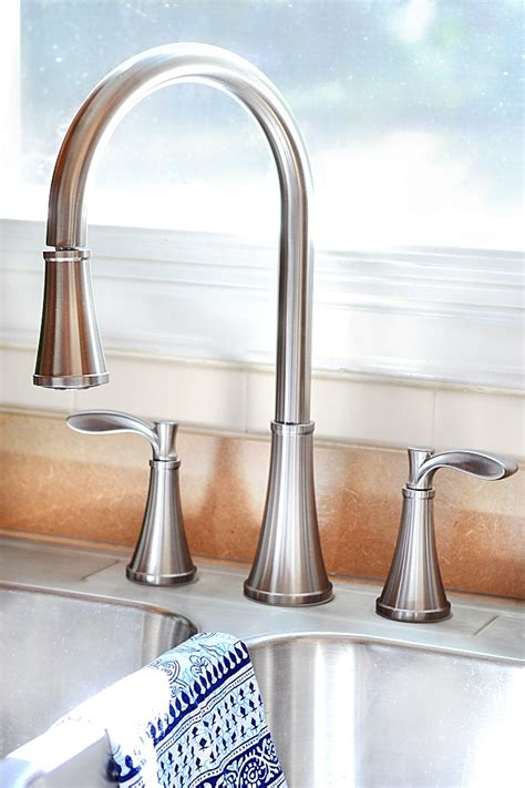 pfister faucet review and giveaway at the picket fence
