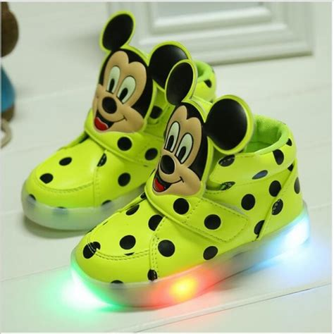 Sandal Sancu Minion Size 21 24 1 size 21 26 led lighting children shoes sales lovely luminous sneakers