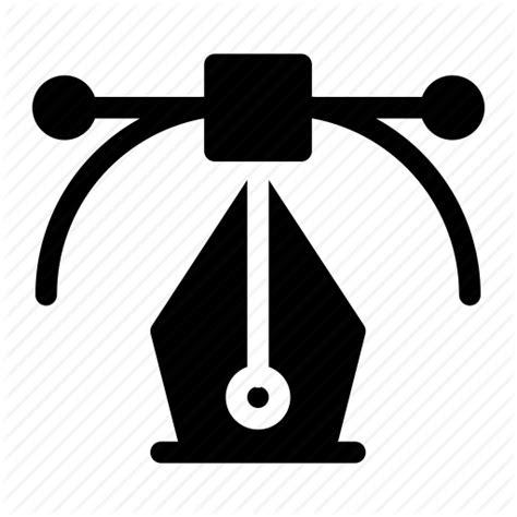 design icon svg arrow box creative design format fountain pen