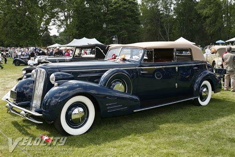 Cadillac V16 Convertible by 1934 Cadillac V16 Convertible Sedan Information