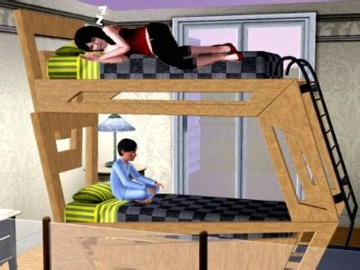 sims 3 toddler bed bunk beds by karenn the exchange community the sims 3