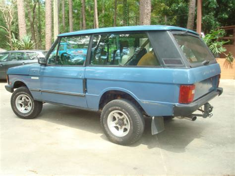 1988 range rover classic collector quality new 4 2l engine well sorted 1988 range rover classic 2 door all manual options turbo diesel 5 speed solid for sale photos