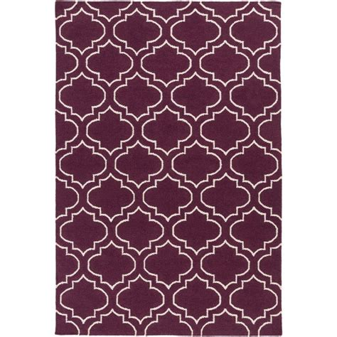eggplant rug artistic weavers york eggplant 10 ft x 14 ft indoor area rug awhd1052 1014 the home depot