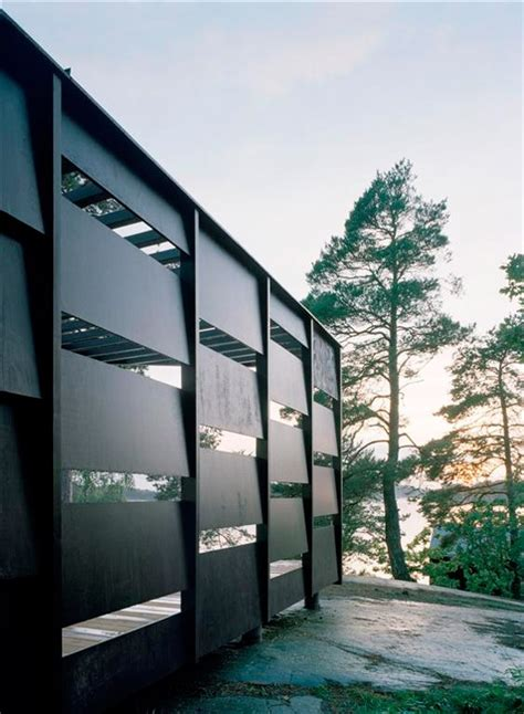 Oak Trellis Archipelago House By Tham Amp Videg 229 Rd Arkitekter Detached
