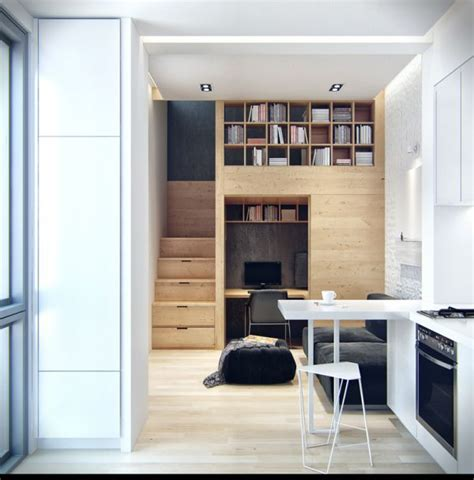 Tiny Apartment | small apartments are the homes of the future
