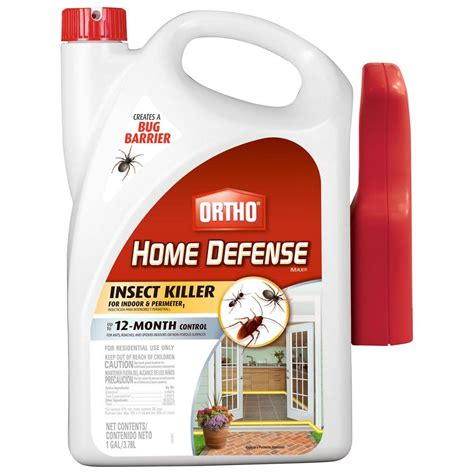 ortho bed bug killer ortho home defense max 1 gal ready to use perimeter and
