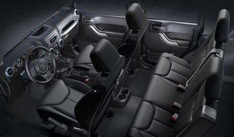 4 Door Jeep Interior Image Gallery 2016 Wrangler Interior