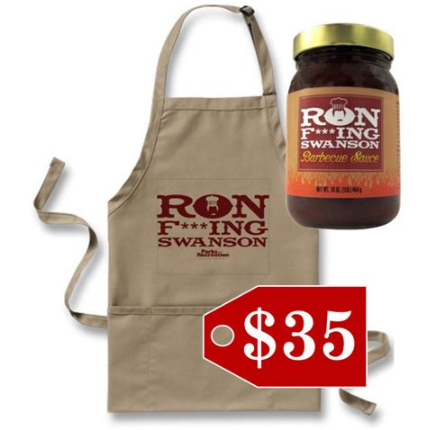 ron swanson s bbq sauce holiday gift guide for tv lovers