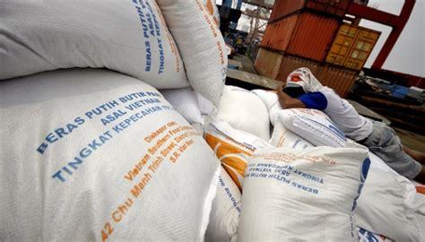 Baju Karung Bulog bulog beras impor datang spekulan bisa tertekan bisnis