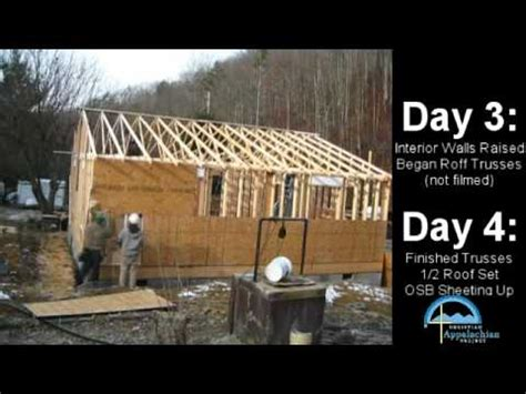 how to go about building a house building a house is easy youtube