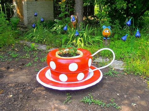 garden decoration recycled 24 creative ways to reuse tires as a garden decoration
