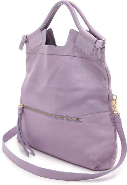 Corrina City Tote Xl by Foley Corinna Foley Corinna Mid City Tote Violet In