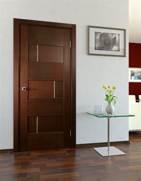 Updating Bathroom Ideas by Quot Dominika Quot Wenge Oak Modern Interior Door