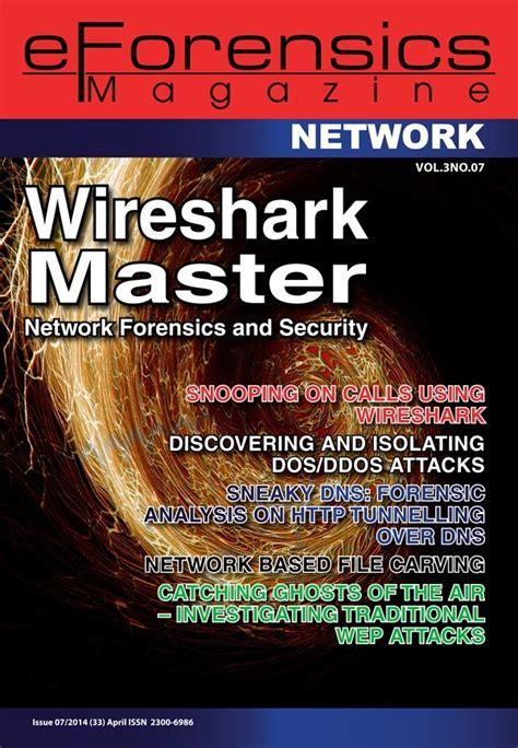 lynda wireshark malware and forensics wireshark master network forensics and security eforensics