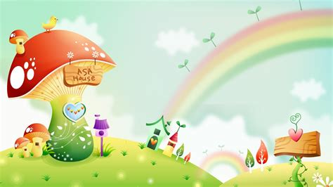 imagenes infantiles en hd fondos de pantalla de dibujos animados fantas 237 a paisajes
