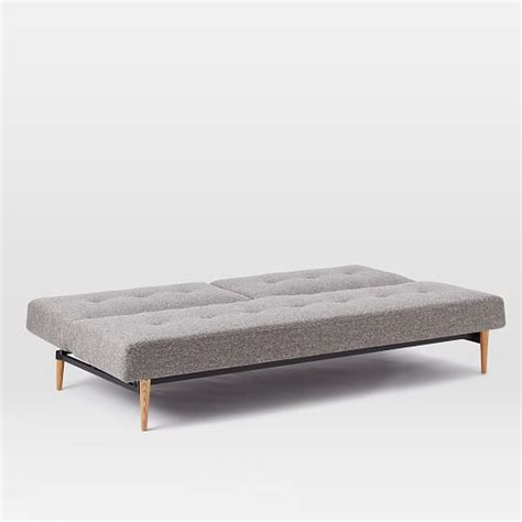 west elm futon frame futon sofa bed frame mid century full futon sofa 82 west