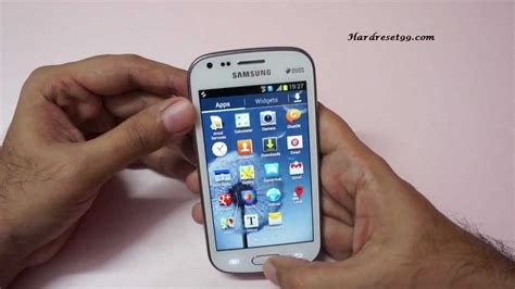 reset samsung trend samsung galaxy trend s7568 hard reset factory reset and