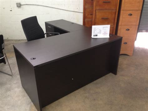 L Shaped Desk With Locking Drawers Of4s Promo L Shaped Manager S Desk With A Locking Box File Drawer 60 Quot Wide X 72 Quot 29 5 Quot High
