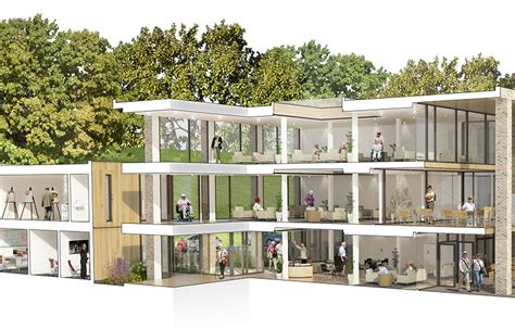 nursing home design uk the build of farnham mill is progressing very well