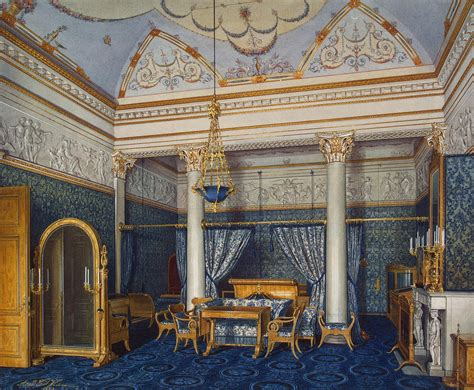 The Bedroom Place file hau interiors of the winter palace the bedchamber