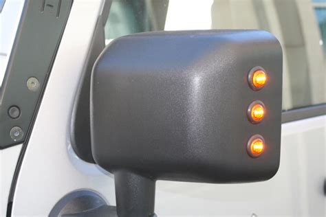 Turn Signal Led Mirror Blue Vision Freed hid lighting by delta lights jeep 1 866 761 0974 free shipping