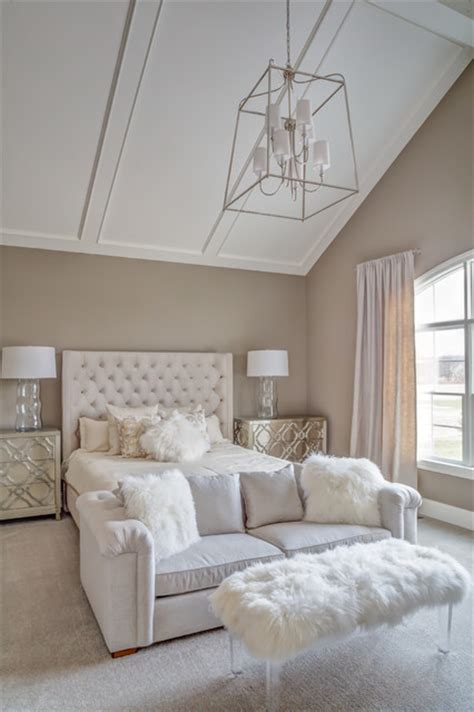 vaulted ceiling bedroom vaulted ceiling master bedroom transitional bedroom