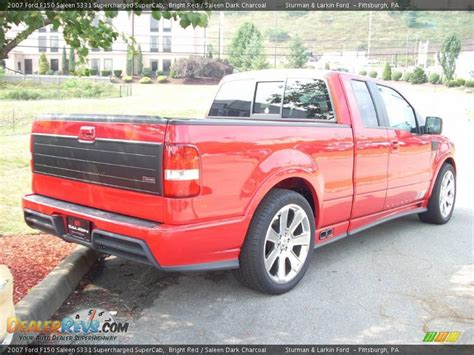 Ford F150 Saleen by 2007 Ford F150 Saleen S331 Supercharged Supercab Bright