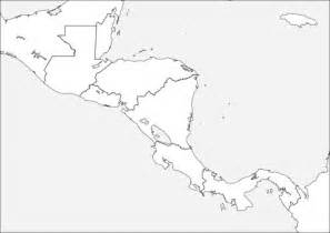 printable maps central america map of central america coloring page free printable